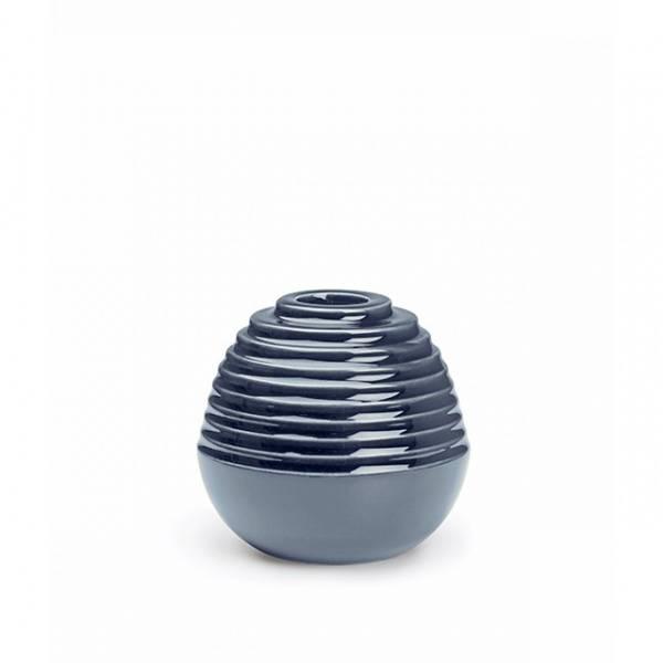 Kähler, Cono lysestake støvet blå 8 cm