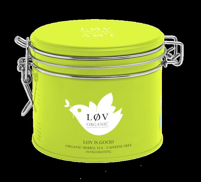 LØV organic, løv is good tea