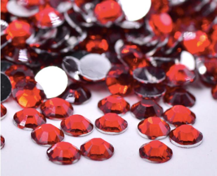 Rhinestones, 1000 stk red