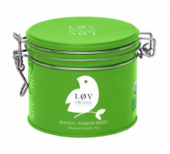 LØV organic, mango passion white tea