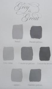 Bilde av Kalklitir, fargekart Grey is