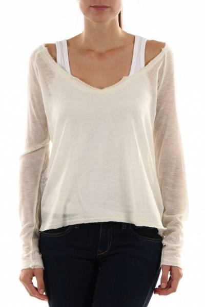 Barfota, summer sweater cream